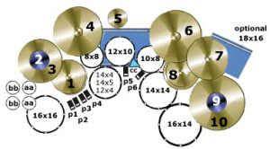 Vic's Drum Setup